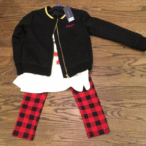 cf7fbe98 Tommy Hilfiger Matching Sets | Girls 3 Piece Outfit | Poshmark